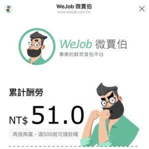 WeJob收益