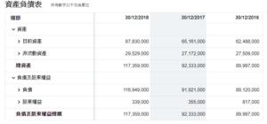 波音資產負債表